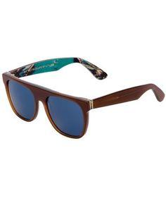 Retro Super Future Óculos De Sol Marrom. - - Farfetch.com Sunnies, Eyewear 8751acb12c