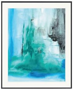 Shades of harmony watercolour Abstract - Online Store - Kristy Lee Interiors $645