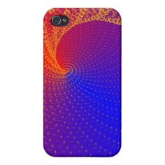 Red-blue iPhone 4/4S Covers // #case #iPhone #smartphone #cover #gift #galaxy #music #notes #gold #symphony