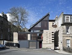 Murphy House, Edinburgh, Richard Murphy Architects