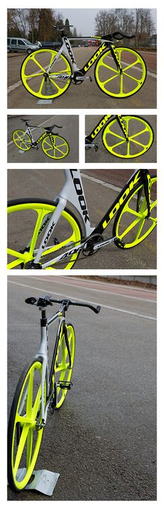 LOOK...absolutely no one can miss you...with this...like the Neon Yellow...yummm! http://equipacionesciclismo.com/