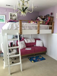 Ana White | Kids Loft Bed - DIY Projects