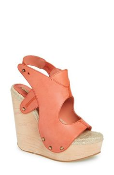 MAXSTUDIO 'Fiore' Platform Wedge Sandal (Women) available at #Nordstrom