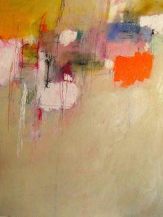 "Saatchi Online Artist: Mary Ann Wakeley; Mixed Media, Painting ""Parfois c'est comme ça"""