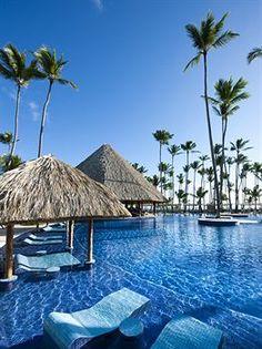 Barceló Bávaro Beach All Inclusive, Punta Cana, Dominican Republic...visit my Dad :)