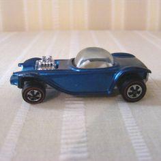 Old Hot Wheels Car | Vintage 1968 Hot Wheels Redline Beatnik Bandit in Metallic Aqua Red ...