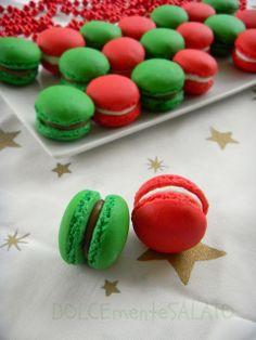 DOLCEmente SALATO: Macarons natalizi