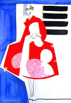 Fashion Illustration Design Our first year fashion design students are taught by illustrator Richard Gray. These are a selection of first year students fashion illustration work, depicting this seasons runway collections. Fashion Illustration Collage, Fashion Collage, Love Illustration, Fashion Prints, Fashion Art, Fashion Illustrations, Fashion Sketchbook, Fashion Sketches, Fashion Design Portfolio