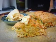 Bringing back the flavor with these Savory Cheddar & Chive Scones
