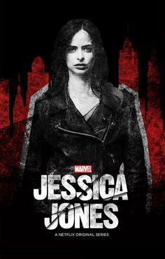 Jessica Jones on Netflix Jessica Jones Netflix, Jessica Jones Marvel, Marvel Dc Comics, Marvel Avengers, Marvel Women, Marvel Universe, Defenders Marvel, Dc Movies, Marvel Series
