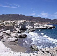 Coastline at Escullos - Cabo de Gata