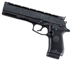 87 Target: LR Target Pistol for Practical Shooting Matches The Beretta 87 Target is a practical-shooting competition pistol that is ready to go out of the box. Weapons Guns, Guns And Ammo, Zombie Apocalypse Kit, Tactical Equipment, Cool Guns, Fantasy Weapons, Airsoft, Zombies, Concept Cars