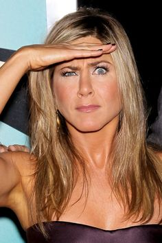 Jennifer Aniston pulls a face at the premiere