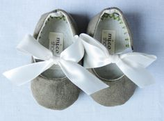 Suede shoes for baby