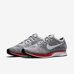 Nike Flyknit Racer - Wolf Grey / White - Pure Platinum - Cool Grey