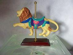 Look Avon Carousel Lion
