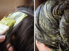 Avocado Homemade Hair Mask For Damaged Hair