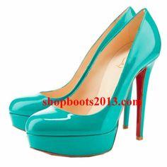 Discount Christian Louboutin Bianca 140mm Platform Pumps Jade Discount Boots, Cl Shoes, Shoe Shop, Platform Pumps, Jade, Fashion Beauty, Christian Louboutin, Peep Toe, Footwear