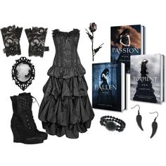 Luce from Lauren Kate's Fallen series inspired outfit. Seeing Lauren tomorrow wish I had this Lauren Kate, Fallen Series, Fallen Book, Fallen Angels, Other Outfits, Cute Outfits, Tall Girl Fashion, Movies And Series, Dream Prom