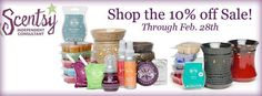 It's a Scentsy Sale!  Stock up on your Scentsy favorites in February. http://brandiebowen.scentsy.us
