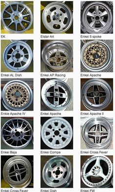 Click this image to show the full-size version. Jdm Wheels, Aftermarket Wheels, Classic Japanese Cars, Dodge Muscle Cars, Rims For Cars, Car Mods, Mini Trucks, Custom Wheels, Unique Cars