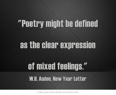 W.H. Auden, New Year Letter
