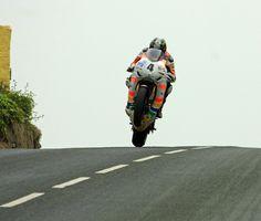 TT Superbikes at Rhen Cullen-Ian Hutchinson.