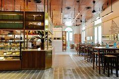 Historical venue and childhood memories influence nostalgic Singapore restaurant design...