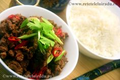 Garlic and chillies beef slices