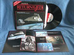 RARE Vintage Star Wars The Story Of Return Of by sweetleafvinyl