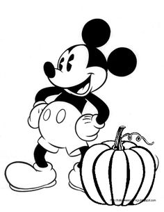 Dibujos para colorear Disney Dibujos Pinterest Mickey