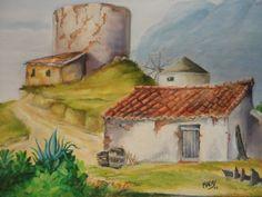 """""""PAISAGEM"""" - 2003  - Pintura a óleo sobre tela (*)"""