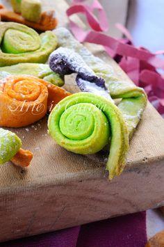 Stelle filanti colorate dolci di carnevale al forno vckyart arte in cucina