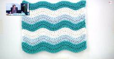 Beginners Blanket: Create Your Own Rugged Ripple Afghan!