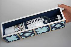Dzielić Wódka packaging by Morgan Glisczinski