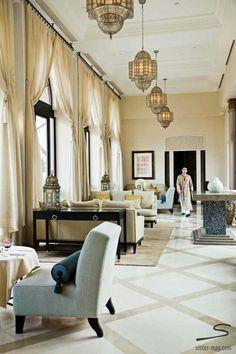 The Four Seasons Hotel in #Marrakesh. Explore more hotel recommendations in #sisterMAG8. Photo: Alvaro Leiva