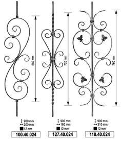 Railing elements