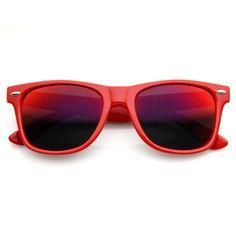 Retro Revo Color Mirror Lens Wayfarer Sunglasses 8126 from zeroUV