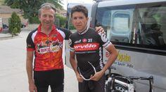 With Carlos Sastre
