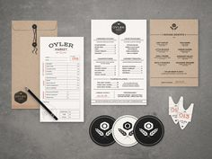 Oyler Market Barbecue & Brewery on Behance