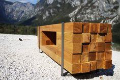 TRAMEK TV cabinet By Desnahemisfera design studio - Slovenia, on Designeros.com $3,156.00 #designeros