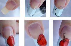 FL | DIY Cherry Nails
