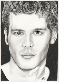 vampire diaries klaus deviantart draw portrait drawing drawings sketches coloring pages fan tv