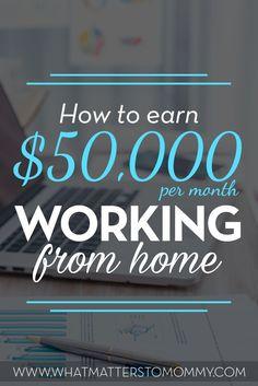Make money from home Lots Of Money, Get Money, Extra Money, Way To Make Money, Money Tips, Money Hacks, Affiliate Marketing, Online Marketing, Marketing Ideas