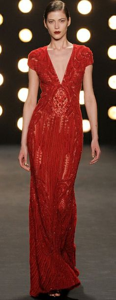 Naeem Khan, New York Fashion Week, Herbst-/Wintermode 2014 Naeem Khan, Beautiful Gowns, Beautiful Outfits, Glamour, Pretty Dresses, Dress To Impress, Designer Gowns, Evening Dresses, Ready To Wear