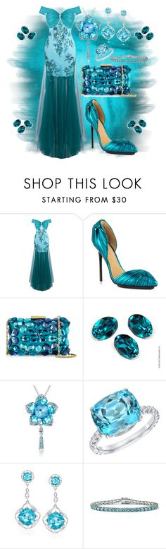 """Like A Dream"" by donnalynnginn ❤ liked on Polyvore featuring L.A.M.B., Love Moschino, Tamir, Ross-Simons and Palm Beach Jewelry"