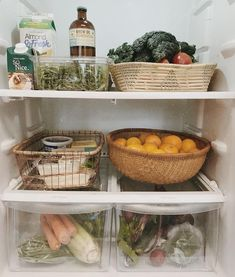 😍 inspiration. I would LOVE for the inside of my fridge to look like a bougie hippy farmers market