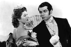 Greer Garson and Laurence Olivier