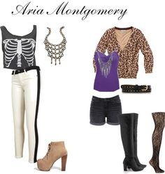 """""""Aria Montgomery"""" by aubreyann97 on Polyvore"""