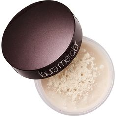 Take a Powder Translucent Loose Setting Powder Puff Laura Mercier ($42) ❤ liked on Polyvore featuring beauty products, makeup, makeup tools, laura mercier cosmetics, laura mercier and laura mercier makeup